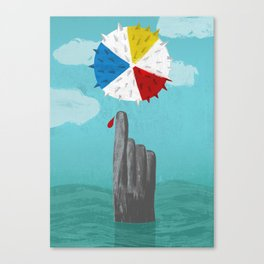 Cruel Summer Canvas Print