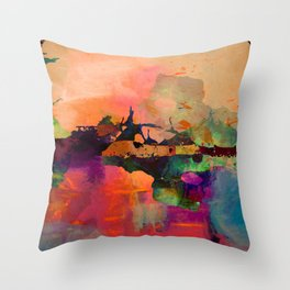 C-art 2 Throw Pillow