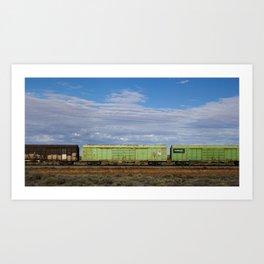 Broken Hill Art Print
