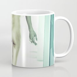 Tall Boyish Brunette Nude Coffee Mug