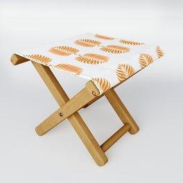 TROPICAL PALMS . TANGERINE Folding Stool