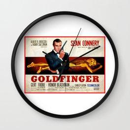 jamesbond007goldfinger Wall Clock