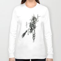 witch Long Sleeve T-shirts featuring Witch by Elias Aquino