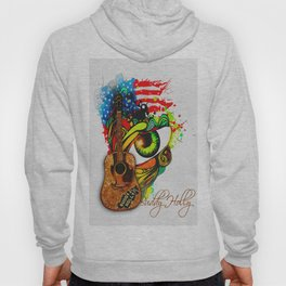 Buddy Holly - A tribute Hoody