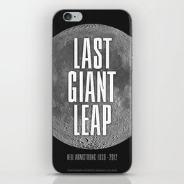 Last Giant Leap iPhone Skin