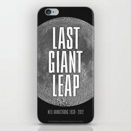 Last Giant Leap iPhone Skin