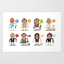 Murrays Complete Set Art Print