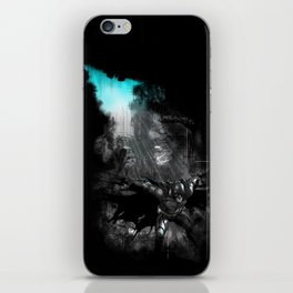 The Flight of the Knight iPhone Skin