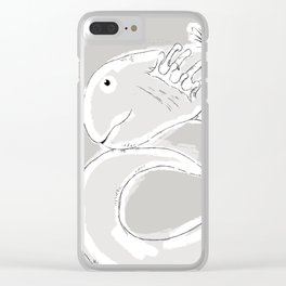 Sage Clear iPhone Case