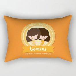 Geminis Rectangular Pillow