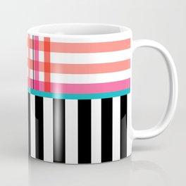 Gingham: Strawberry Flavor + Stripe Coffee Mug
