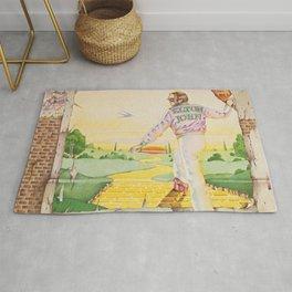 John - Goodbye Yellow Brick Road by Elton Rug