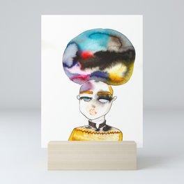 Bubblehead Mini Art Print