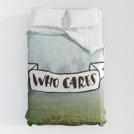 Who Cares Comforters