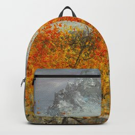 Aspens in the San Juans by Ainé Daveéd Backpack