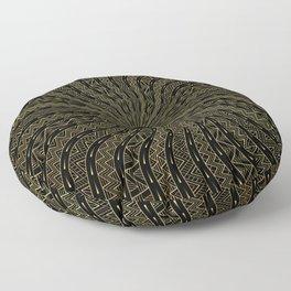 Golden Oracle | Ornamentalism Floor Pillow