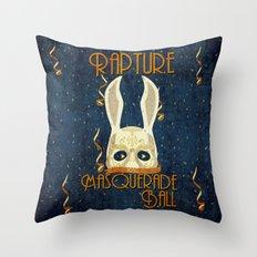 Rapture Masquerade Ball 1959 Throw Pillow