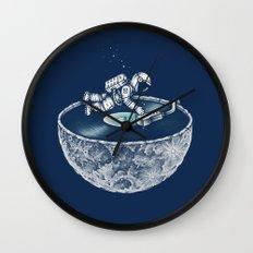 Space Tune Wall Clock