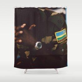 C E A S E F I R E Shower Curtain