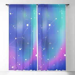 Unicorn Night Sky Blackout Curtain