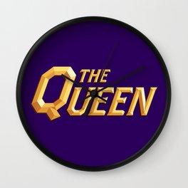 The Queen Full Logo Wall Clock