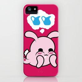 Naughty Bun iPhone Case