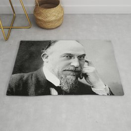 Henri Manuel -Portrait of Erik Satie Rug