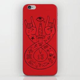 lament red iPhone Skin