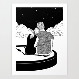 Time stands still Art Print