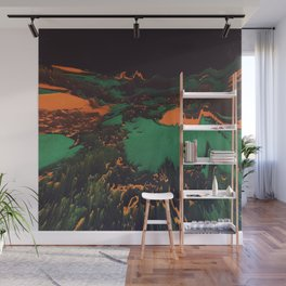 ŁÁQUESCÅPE Wall Mural