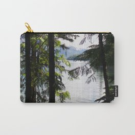 Lakeside trees Carry-All Pouch