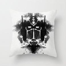 Optimust Throw Pillow