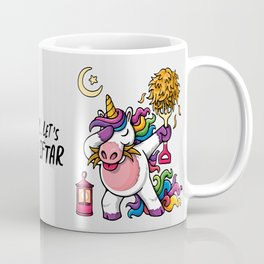 Dab for Iftar | Funny Unicorn | Eid Mubarak | Ramadhan Coffee Mug