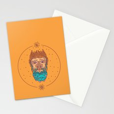 Mountain of a beard Stationery Cards
