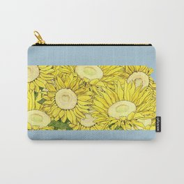 Kansas in Flowers Carry-All Pouch