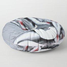 Soft Grunge Floor Pillow