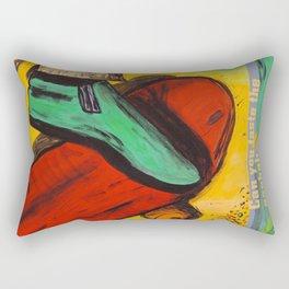 The Ride! Rectangular Pillow