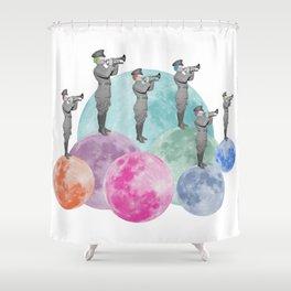 Herald the Night Shower Curtain