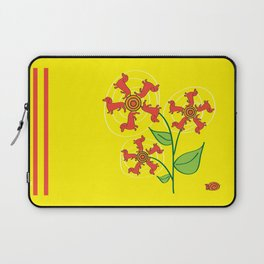 Doxie Flower Laptop Sleeve
