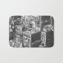 City Landscape Bath Mat