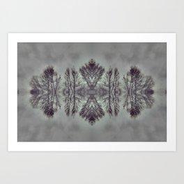 Treeflection I Art Print