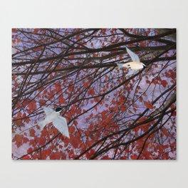 astral autumn Canvas Print