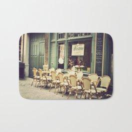 Le petit café Bath Mat