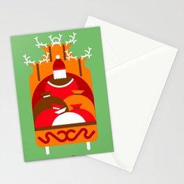 Santa Claus' Sleigh! Stationery Cards