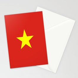 Flag of vietnam Stationery Cards