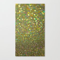 Partytime Gold Canvas Print