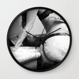 Sexy en la cocina Wall Clock