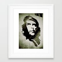 che Framed Art Prints featuring Che by Martin Llado