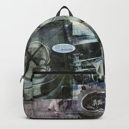 SRC Preparations Wall Art 911 Race One Backpack