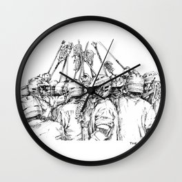 Game Time (The Art of Lax™) Wall Clock
